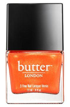 Orange shimmer