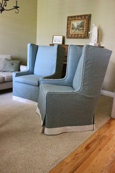 My clients Inspiration pic for her chairs. She wanted an upholstered look as much as possible.        BEFORE---a great set of unique squ...
