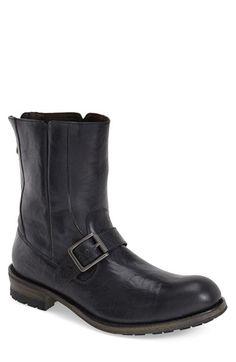 John Varvatos Star USA 'Lincoln' Moto Boot (Men)