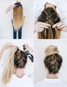 Easy Hairstyles nice 10 Super-easy Trendy hairstyles for school // nice 10 Super-easy Trendy hairstyles for school // Trendy Hairstyles, Braided Hairstyles, Hairstyles 2018, Simple Hairstyles For School, School Hairdos, Girls Hairdos, Long Haircuts, Hairstyles Pictures, Beautiful Hairstyles