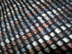 Crochet tunisien - Châle 2011
