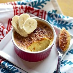 This is possibly the best sounding dessert ever!! My two favorites in one!!  Yes please!!! Banana's Foster Creme Brulee! OMG!!!