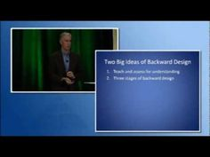 Solution Tree: Jay McTighe on the Backward Design Framework  Concise and cogent explanation of the two main UbD ideas: understanding and design.