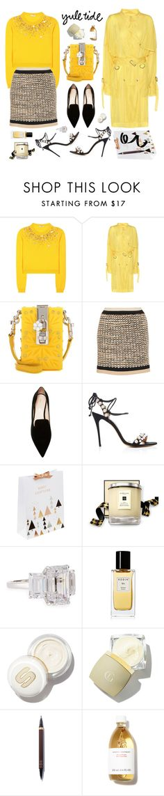 """""""Christmas Sparkle"""" by sue-mes ❤ liked on Polyvore featuring Miu Miu, Public School, Dolce&Gabbana, Missoni, Nicholas Kirkwood, Monique Lhuillier, Jo Malone, Fantasia by DeSerio, Rodin and Tom Ford"""