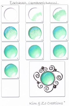 Gemstones tutorial - Kim & Zo Creations