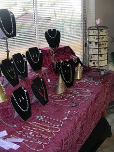 jewellery display       CLICK on the pic for more details.  http://www.blankjewelry.com