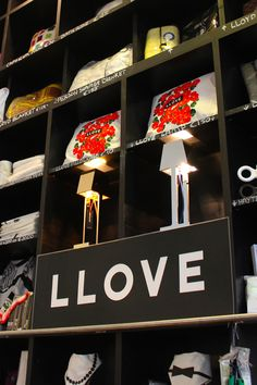 LLOVE lamp for sale at the Lloyd Hotel in Amsterdam /// More info on Interiorator.com