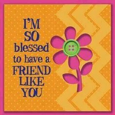 Good friends are great blessings 💖💜 Special Friend Quotes, Friend Poems, Best Friend Quotes, Special Friends, Best Friendship Quotes, Friend Friendship, Bff Quotes, Genuine Friendship, Funny Friendship