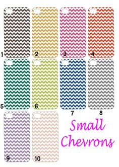 Available small chevrons colors