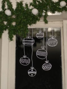 Your Christmas window decorations are one of them. Christmas window decorating are important and it's great that you are looking out for ideas on time. Noel Christmas, Winter Christmas, All Things Christmas, Christmas Windows, Christmas Window Paint, Christmas Ornaments, Christmas Lights, German Christmas, Christmas Quotes