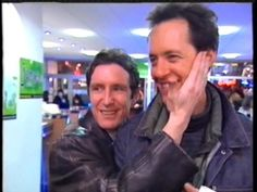 Paul McGann & Richard E. Grant. Eighth Doctor, Doctor Who, Withnail And I, Paul Mcgann, British Actors, Circuit, Weird, The Past, Icons