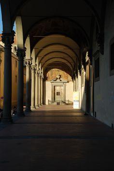 Firenze : Brunelleschi, Basilica di Santa Maria del Santo Spirito