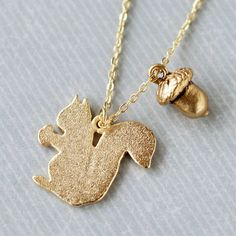 Woodland Squirrel Necklace at shanalogic.com