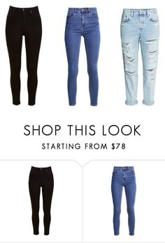 """Untitled #41"" by largebookmania on Polyvore featuring Lee and H&M"