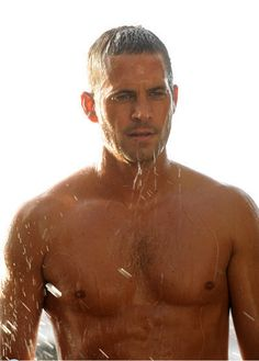 Paul Walker - there are no words necessary.......