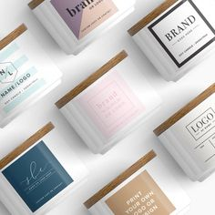 Candle Packaging, Candle Labels, Soap Packaging, Custom Packaging, Product Packaging, Product Labels, Packaging Ideas, Packaging Design, Packaging Stickers
