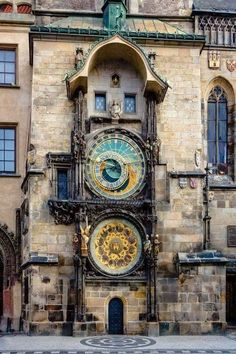"""steampunktendencies: """"Installed in the year 1410, this 600 year old clock in the city of Prague is the World's oldest astronomical clock still in operation. """""""