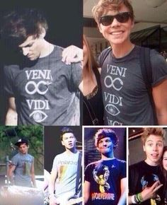 LOUIS SHARES CLOTHES WITH 5SOS OMG