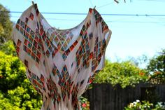 DICA DE COSTURA DE FIFIA: vestido túnica com tutorial