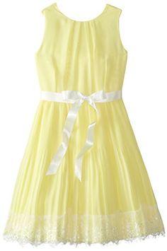 Blush by Us Angels Big Girls' Chiffon A-Line Dress with Lace Trim, Yellow, 8 Blush by Us Angels http://www.amazon.com/dp/B00RF6QIQC/ref=cm_sw_r_pi_dp_CcVovb183566Q