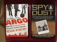 Argo & Spy Dust by Antonio Mendez Singed and Inscribed First Editions