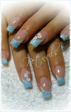 ♡Breakfast at Chloe's♡So schön - - Elegante Nageldesigns Perfect Pink And White Nails For Brides ❤ pink and white nails French Nail Designs, Gel Nail Designs, Elegant Nails, Stylish Nails, Cute Acrylic Nails, Glitter Nails, Nagel Hacks, Nagellack Design, Finger Nail Art