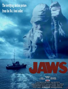 Jaws Movie Poster........