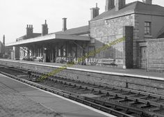Alford Town Railway Station Photo. Willoughby - Aby. Authorpe Line. (3) in Collectables, Transportation, Railwayana | eBay