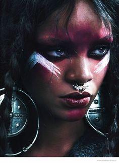 Rihanna For W Magazine // #Fashion #Icon