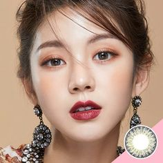 LENS TOWN Back to Basic JULY Gray Soft Contact Lenses #buy_colored_contacts_online #color_eye_contacts_online #coloured_contact_lenses #best_coloured_contact_lenses #korea_color_contact_lense #korea_color_lense #korea_color_contact #Lens_Town #lenstown Soft Contact Lenses, Coloured Contact Lenses, Colored Eye Contacts, Contacts Online, Circle Lenses, Clear Face, Korean Makeup, Beautiful Asian Women, Asian Beauty