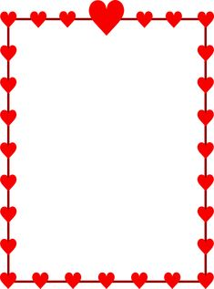 Valentine Heart Border Clipart – Quotes Wishes for Valentine's Week Clip Art Free Valentines Day New Calendar Template Site Valentin. Valentines Day Border, Valentines Day Clipart, Valentine Theme, Valentine Heart, Kids Valentines, Borders For Paper, Borders And Frames, Cliparts Free, Free Printable Stationery