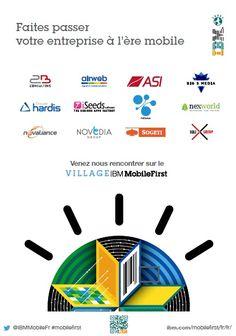 Le Village IBM MobileFirst accueil 12 partenaires !