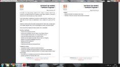 Anúncio de uma empresa enviado pela Faculdade de Ciências da Universidade do Porto aos seus alunos.