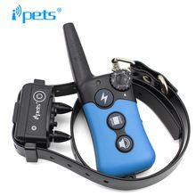 Ipets 619-1 330m Rechargeable&Waterproof Dog Training Collar -Vibration/Static Shock/Tone Training Stimulations for All Dogs //Price: $US $42.74 & FREE Shipping //     #dogtraining