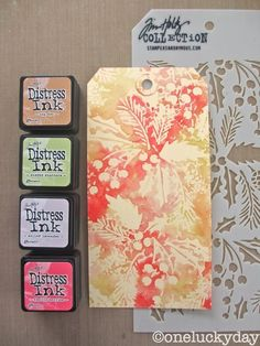 Reverse stenciling - put ink on the stencil then use it like a stamp on paper - several examples