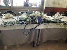 Centrotavola in un ristorante per battesimo