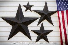 ÉTOILE AMISH 4 formats noir. #etoileamish #etoile #blackstar #amishstar #madeinUSA #amish #homedeco #USA #star #lecomptoiramericain#americanproduct #americanmade