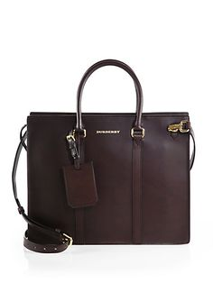 Burberry - Ambrose Leather Briefcase - WOW!