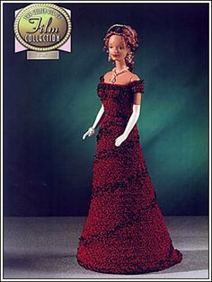 Barbie Crochet: Titanic, The Film Collection, Pattern