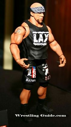 Jakks TNA Series 9 Unreleased Hernandez Action Figure #∆∆shani