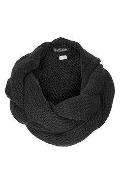 This big, cozy scarf will keep your neck warm in the winter.