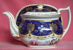 Superb London Shape Teapot  And Stand c.1820