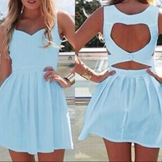 Xenia boutique heart cut out dress Xenia boutique heart cut out dress. Says size 6 fits an xs. Worn twice. Perfect condition Xenia boutique Dresses Mini