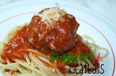 SusieQTpies Cafe: Easy Spaghetti and Meatballs Recipe