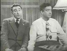John Brown as Digger with Jackie Gleason as Riley.
