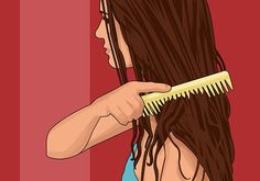 How to Air Dry Your Hair Straight - For when you don't have the time, or simply hate blowdryers!