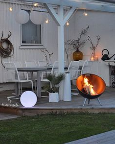 Eva Solo FireGlobe fireplace   Spring Collection 2015 by Eva Solo ...