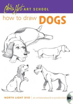 How to Draw Dogs with Chris Hart on http://www.artistsnetwork.com