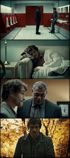 Hannibal's Colour Theory is amazing. each shot looks beautifully crafted! #Cinematography