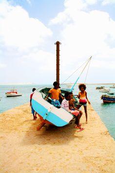 Cape Verdean children, Sal Rei